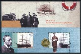 CORBETA URUGUAY RESCATE EXPEDICION CIENTIFICA SUECA 1903-2003 BUQUE POLAR ANTARCTIC  OTTO NORDENSKJOLD  JULIAN IRIZAR - Polar Exploradores Y Celebridades