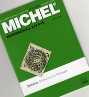 Stamps Rundschau Briefmarken MICHEL 2/2019 New 6€ Of The World Catalogue/magacine Of Germany ISBN 978-3-95402-600-5 - Philatelic Dictionaries