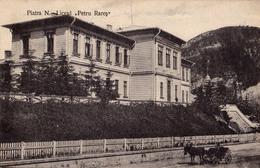 PIATRA NEAMT : LICEUL PETRU RARES ~ 1910 - '914 (aa563) - Romania