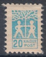 CHILDREN Post Office KINDER POST / GERMANY - LABEL / CINDERELLA / VIGNETTE - MNH / Tree - Post