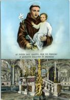 S. SANT'ANTONIO DA PADOVA  Il Santo Con Bambino E Giglio  Particolare Della Basilica - Santi