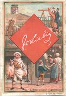 Chromo, Victorian Trade Card. LIEBIG S. 336. Carte Da Gioco 2, Asso Di Quadri. Cartes à Jouer 2, As De Carré. - Liebig