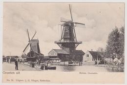 Overschie Bij Rotterdam - Molen Met Volk - Rotterdam