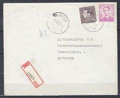 Aangetekend Briefstuk Van Meer Naar Antwerpen - 1936-51 Poortman