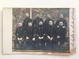 Photo AK Soldats Francais Uniform Insignes Colombophile Colombophilie Militaire Vougirard? - Guerre 1914-18