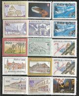 HR 1992 LOT OF STAMPS HRVATSKA CROATIA, MNH - Kroatië