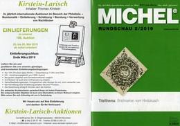 Briefmarken Rundschau MICHEL 2/2019 Neu 6€ Stamps Of The World Catalogue/magacine Of Germany ISBN 978-3-95402-600-5 - Glossaries