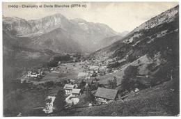 Champéry Et Dents Blanches (2774m) - 1909 - Phototypie Co - VS Valais