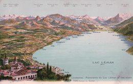 Lausanne Et Panorama Du Léman (7941) - VD Vaud