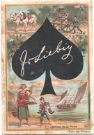 Chromo, Victorian Trade Card. LIEBIG S. 336. Carte Da Gioco 2, Asso Di Picche. Cartes à Jouer 2. - Liebig