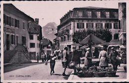 Château D'Oex, Marché Devant L'Hôtel De Ville (2310) - VD Vaud