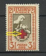 ESTLAND Estonia 1922 Michel 29 A Abart ERROR E: 2 MNH - Estonie