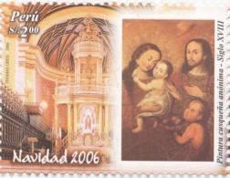 Lote P115, Peru, 2006, Navidad, Sello, Christmas Stamp - Perú