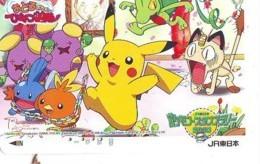 POKEMON * Carte Prépayée Japon * Comics  (276) MANGA * ANIME * PHONECARD JAPAN * MOVIE * FILM * CINEMA - BD