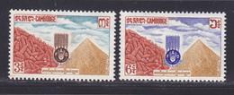 CAMBODGE N°  130 & 131 ** MNH Neufs Sans Charnière, TB (D8659) Campagne Mondiale Contre La Faim - 1963 - Cambodge