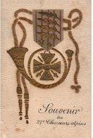 Souvenir Du 27 ème Chasseurs Alpins - Guerre 1914-18