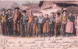 Jeunesse Du Village En 1901 (963) - VD Vaud