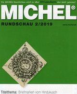 Stamps Rundschau Briefmarken MICHEL 2/2019 New 6€ Of The World Catalogue/magacine Of Germany ISBN 978-3-95402-600-5 - Art