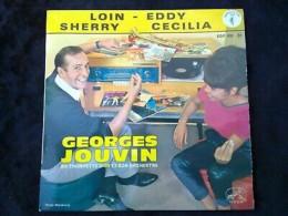 Georges Jouvin: Loin-Eddy-Sherry-Cecilia/ 45t La Voix De Son Maître EGF 620 - Vinyl Records