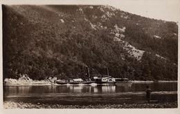"BATEAU / SHIP ""CENTAUR"" On DANUBE [ ROUMANIE / ROMANIA - CAZANE ]- CARTE VRAIE PHOTO / REAL PHOTO ~ 1930 - RRR (aa565) - Romania"