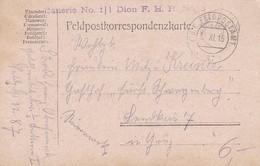 Feldpostkarte Batterie No. 1, 1. Dion. F.H.R. No. 5 - 1915  (39612) - 1850-1918 Imperium
