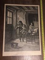 DOCUMENT 1897 LA SAINT NICOLAS LA SŒUR SOEUR AINEE DUVERGER - Vieux Papiers