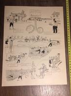 DOCUMENT 1897 COURSE D AUTOMOBILES PARIS TROUVILLE - Vieux Papiers