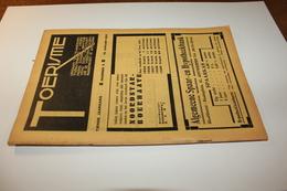#20722 [Boek - Tijdschrift] Toerisme, Tiende Jaargang, Nummer 2, 15 Januari 1931 Aarschot Damme Aardenburg Doornik - Tourisme