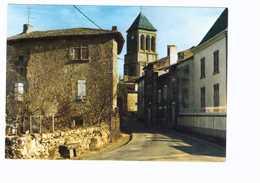 16 Lesterps Eglise D' Une Ancienne Abbaye Clocher Du XIIe - Autres Communes