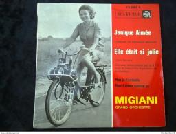 Migiani Grand Orchestre: Janique Aimée: Elle était Si Jolie/45t RCA Victor 76.622 - Vinyl Records