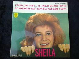 Sheila: L'école Est Finie-Le Ranch De Mes Rêves.../ 45t Philips 432.866 BE - Vinyl Records
