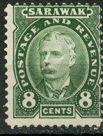 Sarawak 1895 8c Sir Charles Brooke Issue #31 - Sarawak (...-1963)