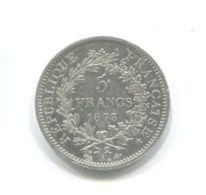 5 Francs Argent 1873A - France
