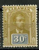 Sarawak 1918 30c Sir Charles Brooke Issue #68 - Sarawak (...-1963)