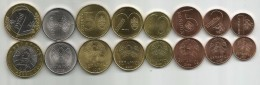 Belarus 2016 (2009) Complete Coin Set Of 8 Coins UNC - Wit-Rusland