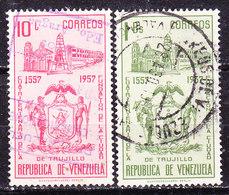 Venezuela 1958 Trujillo   Usati - Venezuela