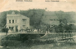 Avenida Friburgo - Nova Friburgo - Brésil Brasil - Belle Animation - Brésil