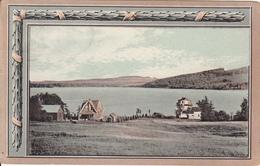 Vintage 1914 - Danville Québec - Nicolet Lakes - Stamp & Postmark - Written - 2 Scans - Quebec