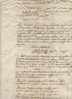Foix,Tarascon, Juge De Paix à Police Correctionnelle, Liste De 18 Prévenus, Pprocédures, Femmes Surtout, An 5 - Historical Documents