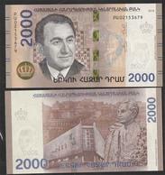 АРМЕНИЯ 2000 драм 2018г UNC! - Arménie