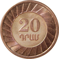 ARMENIA 20  Dram  2003 UNC Bank Bag - Armenia