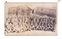 Guerre 14 18 WW1 Soldats Americains  Carte Photo  Supply Co 140 Th Inf Materiel Approvisionement - Guerre 1914-18
