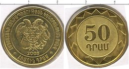 ARMENIA 50  Dram  2003 UNC Bank Bag - Armenia