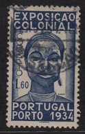 Portugal - N°574 - 1.60 Exposition Coloniale - Oblitere - TB - Cote 14.25€ - 1910-... République