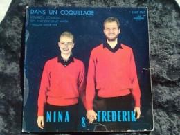 Nina & Frederik: Dans Un Coquillage-Soukou Soukou/ 45t Columbia ESDF 1367 - Vinyl Records