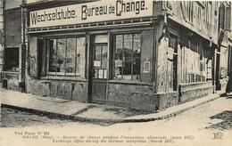 NOYON BUREAU DE CHANGE PENDANT L'OCCUPATION ALLEMANDE - Guerre 1914-18