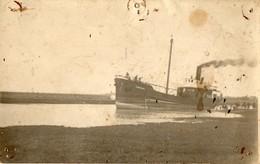 Carte - Photo -  Caboteur / Chalutier -  GUERMOR  (  Le Vivier Sur Mer  ? ) - Commerce
