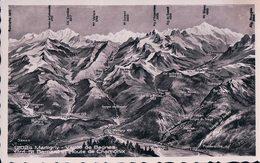 Martigny, Panorama De La Vallée De Bagnes (12024) - VS Valais
