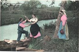 Cartolina, CPA Carte Postale, Postcard. La Vie Aux Champs. Précieux Chargement. - Personnages