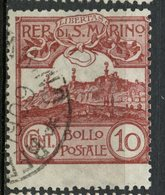 San Marino 1903 10c Mt  Titano Issue #45 - San Marino